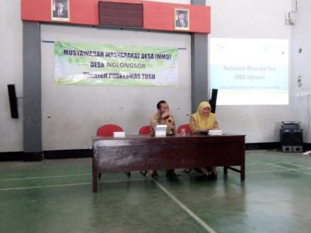 Musyawarah Masyarakat Desa (MMD) dari Puskesmas Tugu